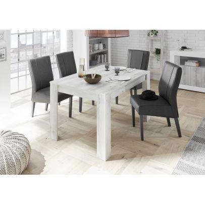Jedálenský stôl URBINO-T180 borovica biela